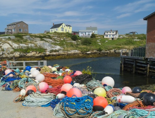 The quaint fishing town of Peggy's Cove (Photo by Sandra Chambers)