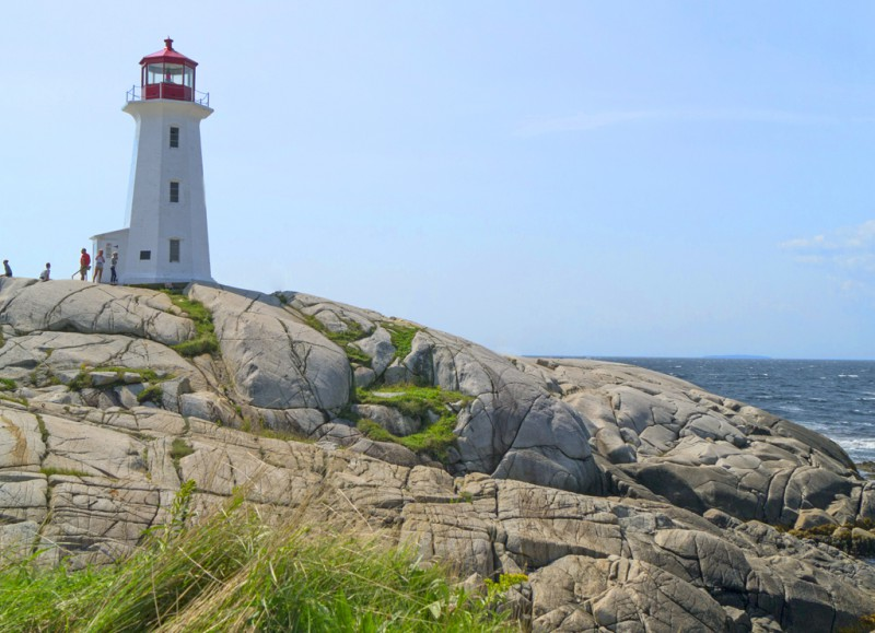 Peggy's Cove Lighthouse is the most photographed lighthouse in Canada (Photo by Sandra Chambers)