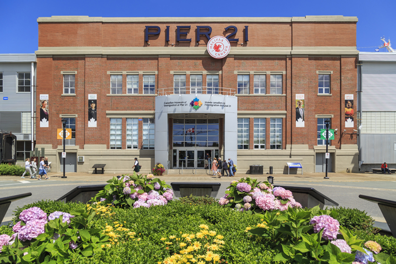 Canadian Museum of Immigration at Pier 21 in Halifax, Nova Scotia (Photo courtesy of Canadian Museum of Immigration)