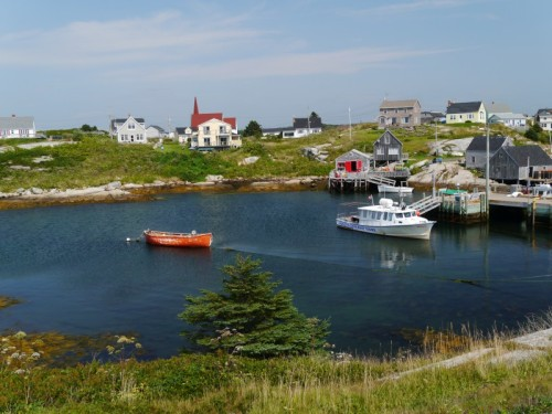 Picturesque Peggy's Cove (Photo by Sandra Chambers)