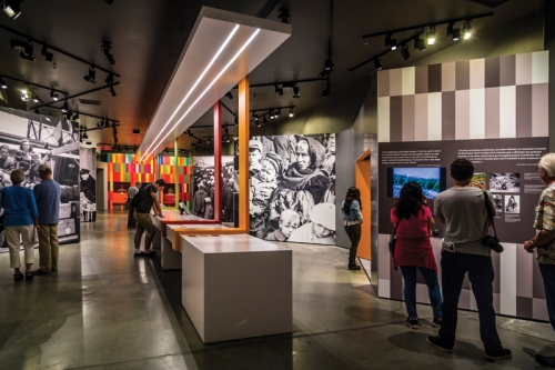 Canadian Immigration Hall (Photo courtesy of Canadian Museum of Immigration)