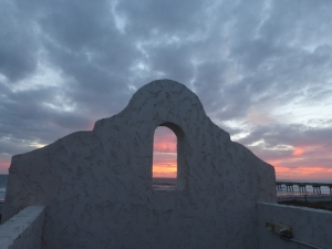 Sunrise from Casa Marina Hotel