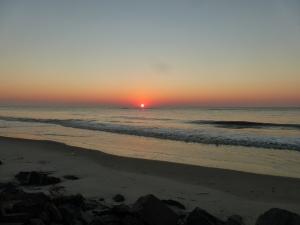 Sunrise at King and Prince Resort