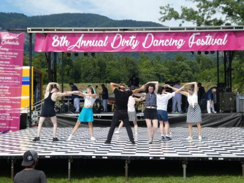Dirty Dancing Festival at Lake Lure, NC