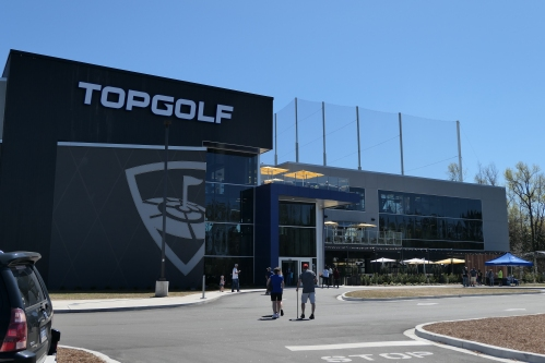 Top Golf opens in Myrtle Beach