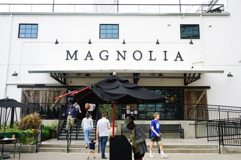 Magnolia Market front of building